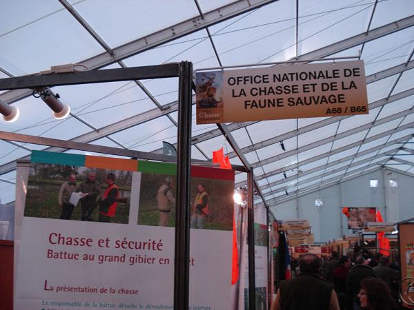 Salon de la chasse de rambouillet - Office national de la chasse et de la faune sauvage ...